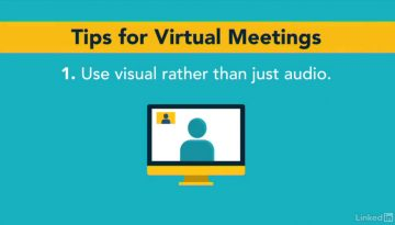 Learning with Lynda.com: Top 10 tips for virtual meetings